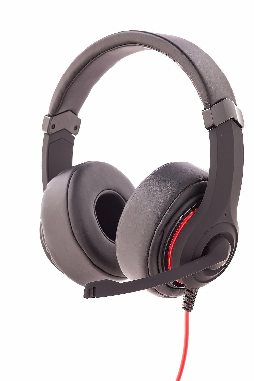 Itek Taurus H303 Cuffie Gaming con Microfono Regolabile [Italia] ITHH303