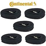 Continental Race 28 700 x 18/25c Presta Valve Inner tube Pack of 5