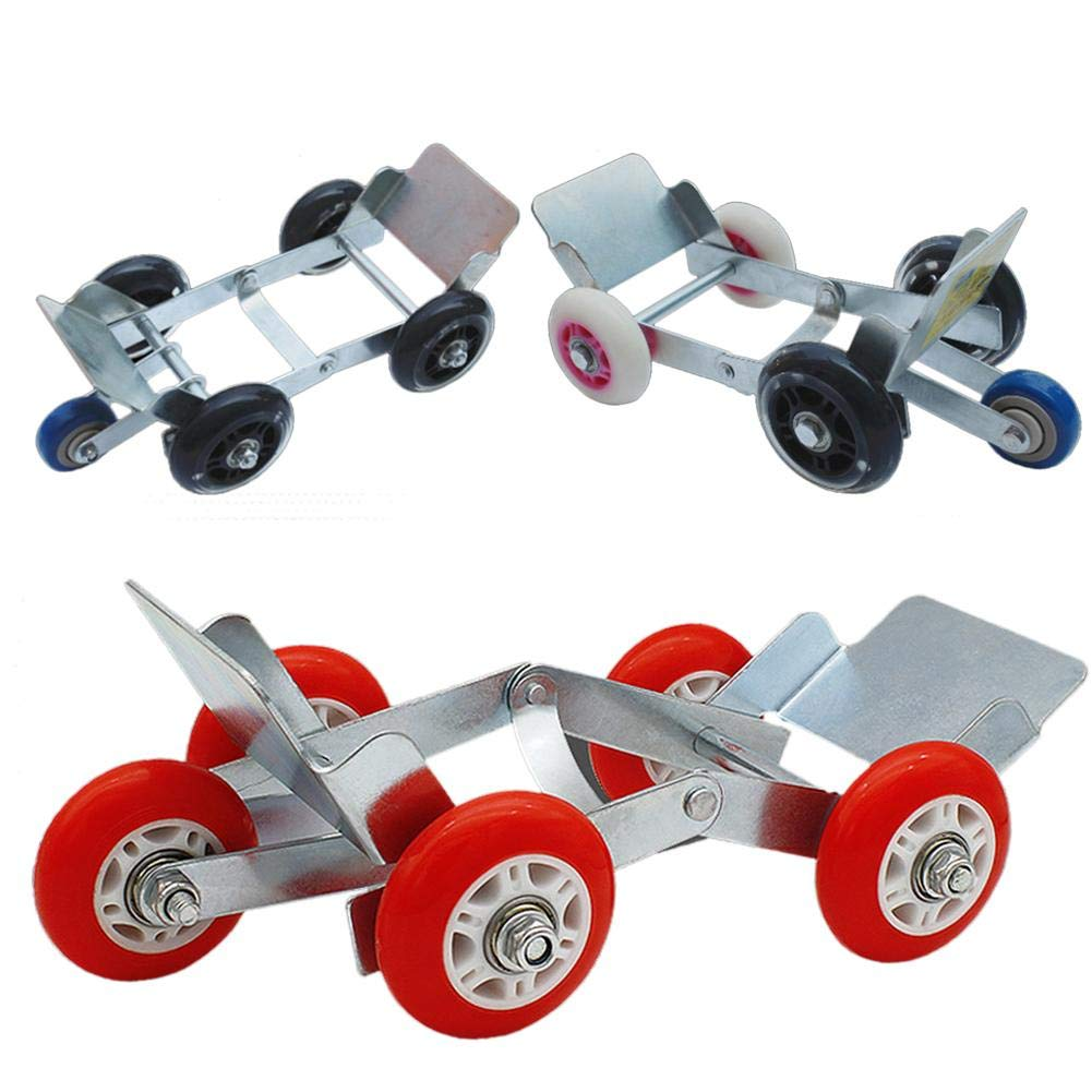 PROKTH Motorcycle Tire Booster Rescue Emergency Foldable Booster Trailer Wheel Booster for Electric Car Random Color