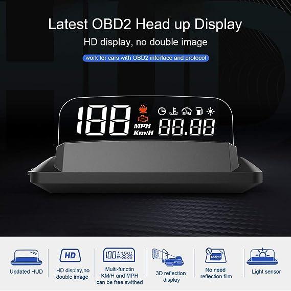 Hud Obd2 Gps Hud Head Up Display Car Auto