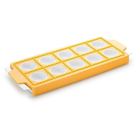 Tescoma 630875 Moldes para Pastas, Amarillo, 11,5 x 2,7 x