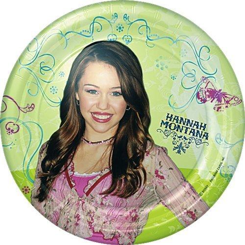 Hannah Montana Small Paper Plates (8ct)