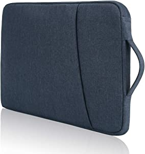 14 15 15.4 Inch Laptop Carrying Sleeve Case, Water Resistant, for MacBook Pro 15 15.4/HP Chromebook 14/Acer Swift 3 5/Lenovo Flex 14/Asus ZenBook 14/Dell XPS 15 7590 (Blue)
