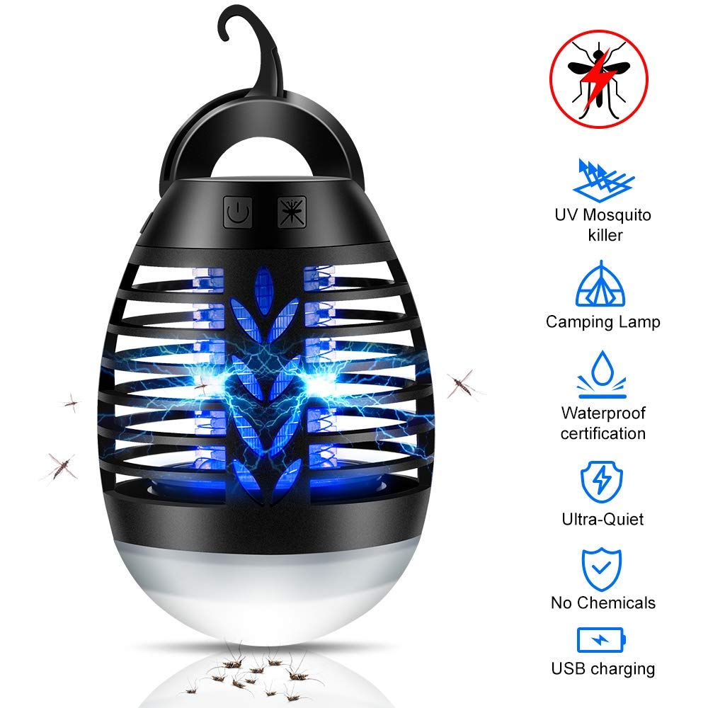 Dee Banna Electronic Insect Killer Mosquito Killer Lamp Insect Bug Fly Stinger Pest Control Traps Bug Zappers