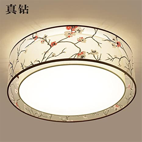 Leihongthebox China LED lámpara de techo tetería círculo ...