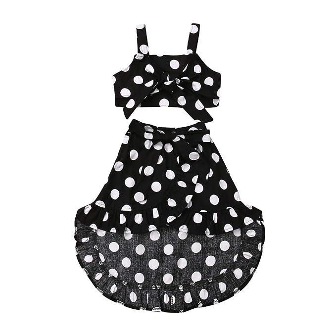 Amazon.com: Harvest8 - Conjunto de ropa de verano para niñas ...