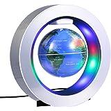 Magnétique Globe Lévitation Tournant 4 Pouces Carte du Monde de la Terrestre Flottante d'antigravité pour Cadeau d'Enfants Décoration de Bureau Maison