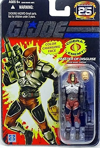 G.I. Joe: 25th Anniversary Single Pack - Zartan