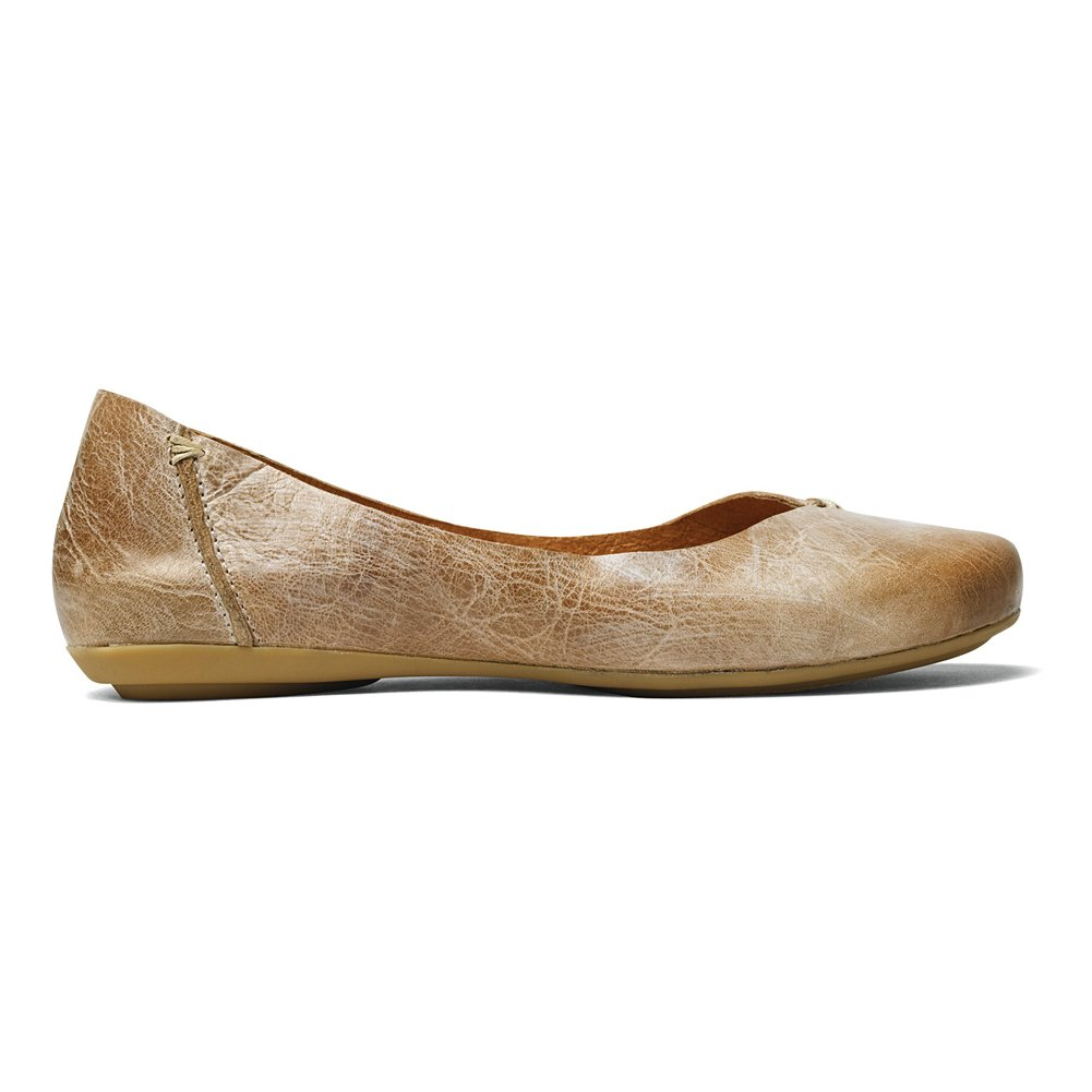 OLUKAI Pueo - Women's Ballet Flats B00L2IN7Y0 6 B(M) US|Bisque/Bisque
