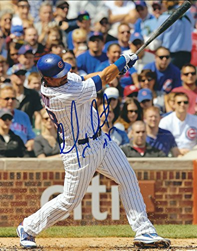 (Autographed Geovany Soto 8X10 Chicago Cubs Photo)