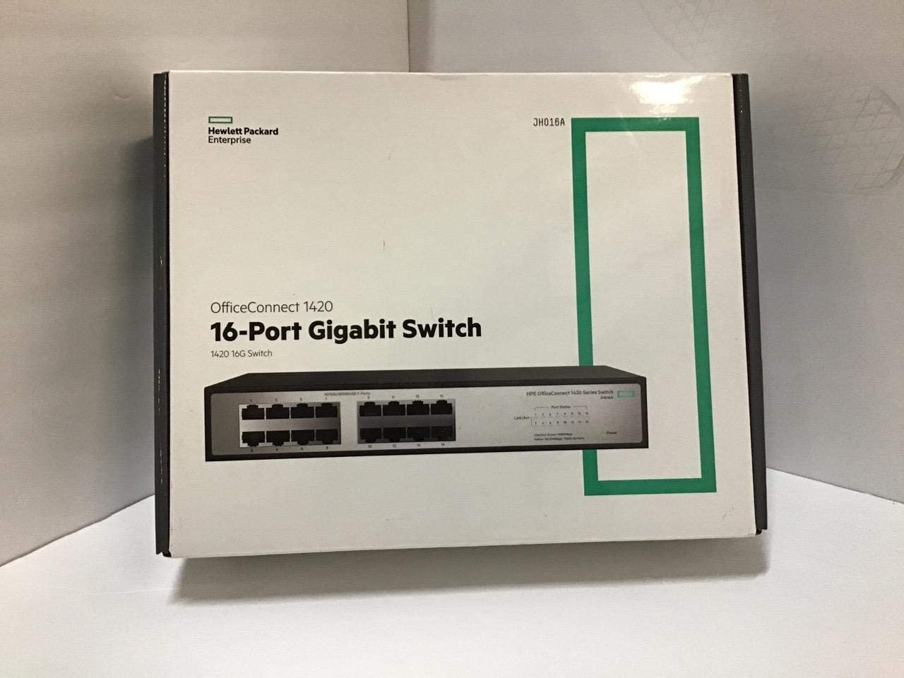 HPE Networking BTO JH016A#ABA 1420-16G Switch US