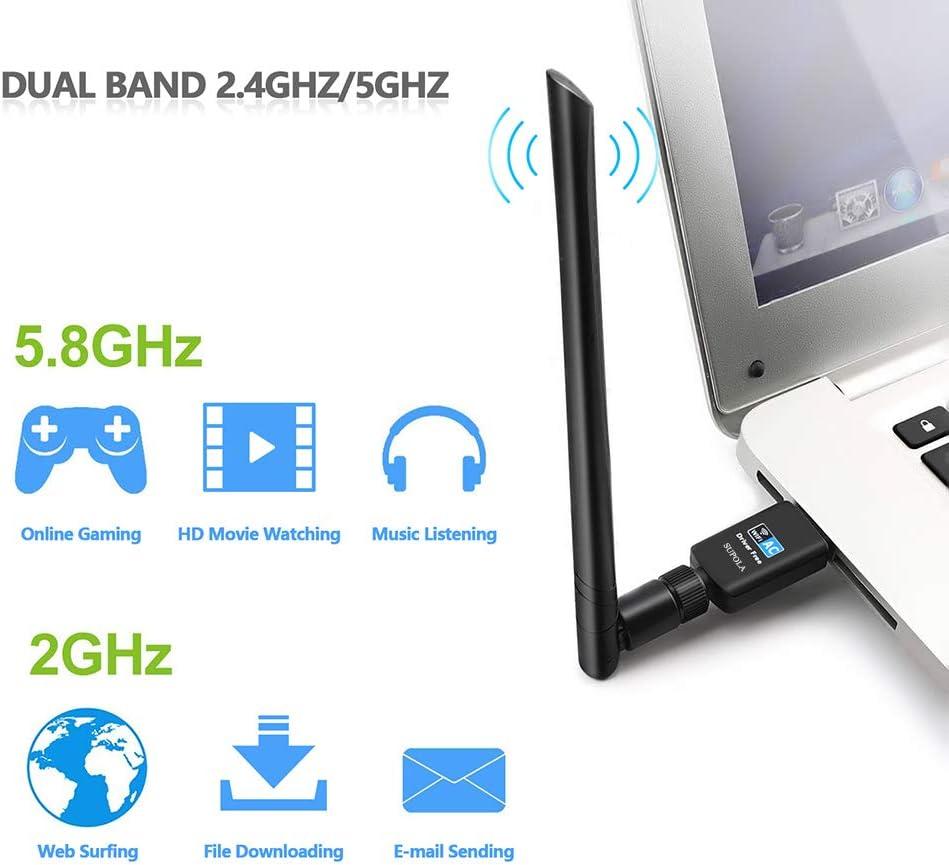 Guía de adaptadores Wifi USB