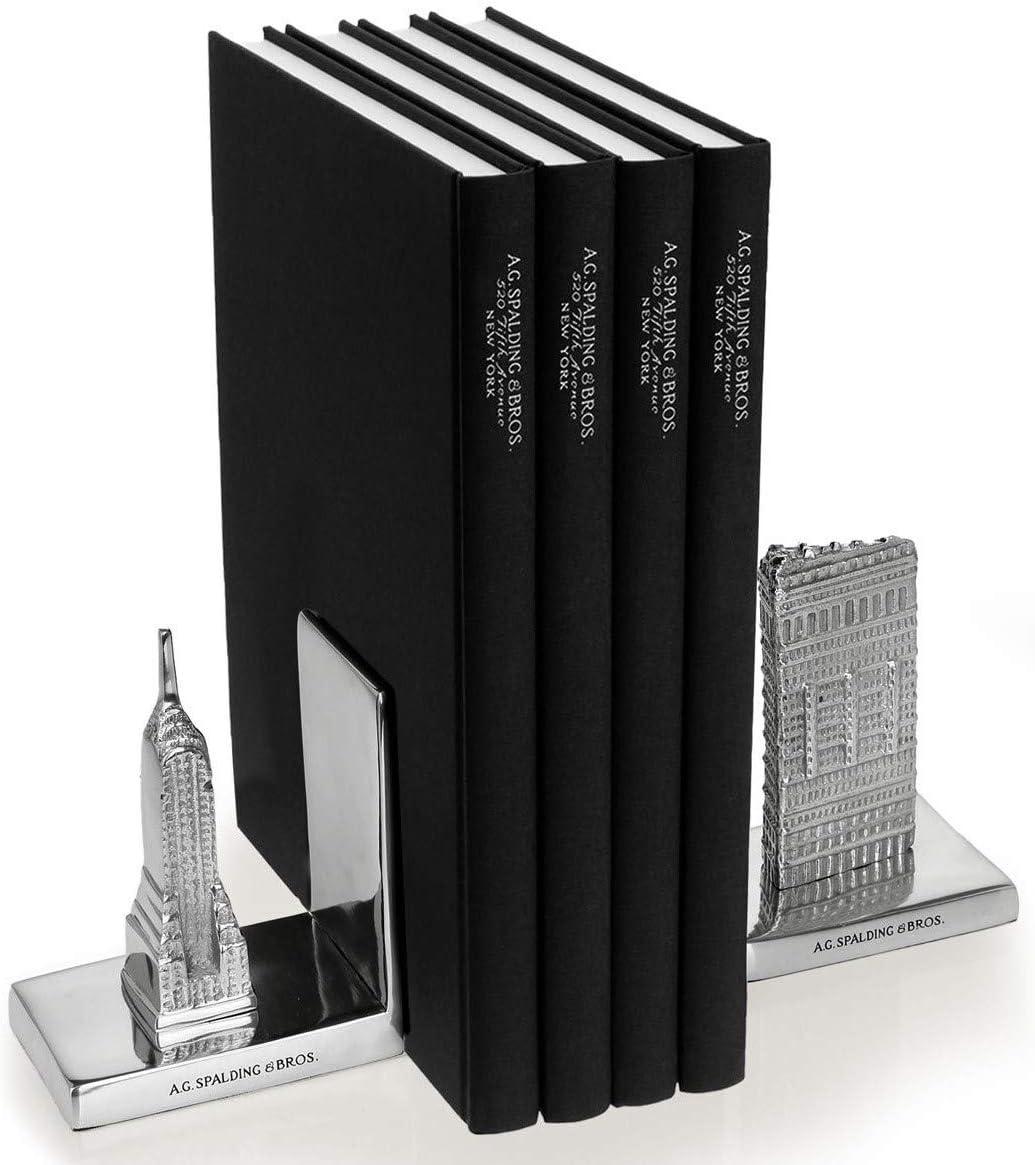 FERMALIBRO FLATIRON /& EMPIRE Spalding /& Bros New York alluminio 1.4 Kg
