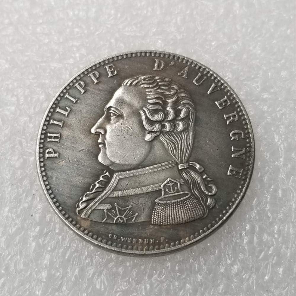 DDTing 1815 Monedas francesas Antiguas de la Mejor Libertad – Moneda Conmemorativa Francesa – Moneda de Francia Antigua – Monedas de Francia – Descubre la Historia de Las Monedas Buen Servicio: Amazon.es: Hogar