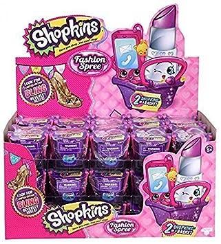 BUNDLE OF TWO Shopkins Season 4 2-Packs Fashion Spree 2 Shopkins In a Basket CmocC
