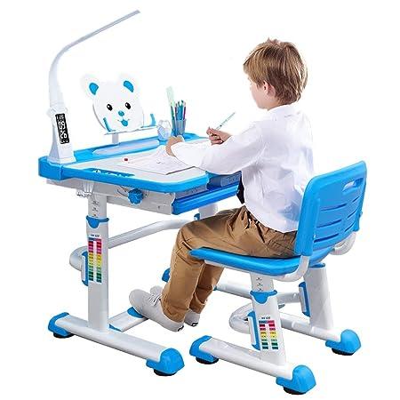 Mesa de Estudio para niños con combinación de Escritorio y Silla ...