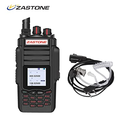 Zastone A19 Two-Way Radio Long Range 10W 999-Channel Military Radio  Handheld Walkie Talkie for Adults