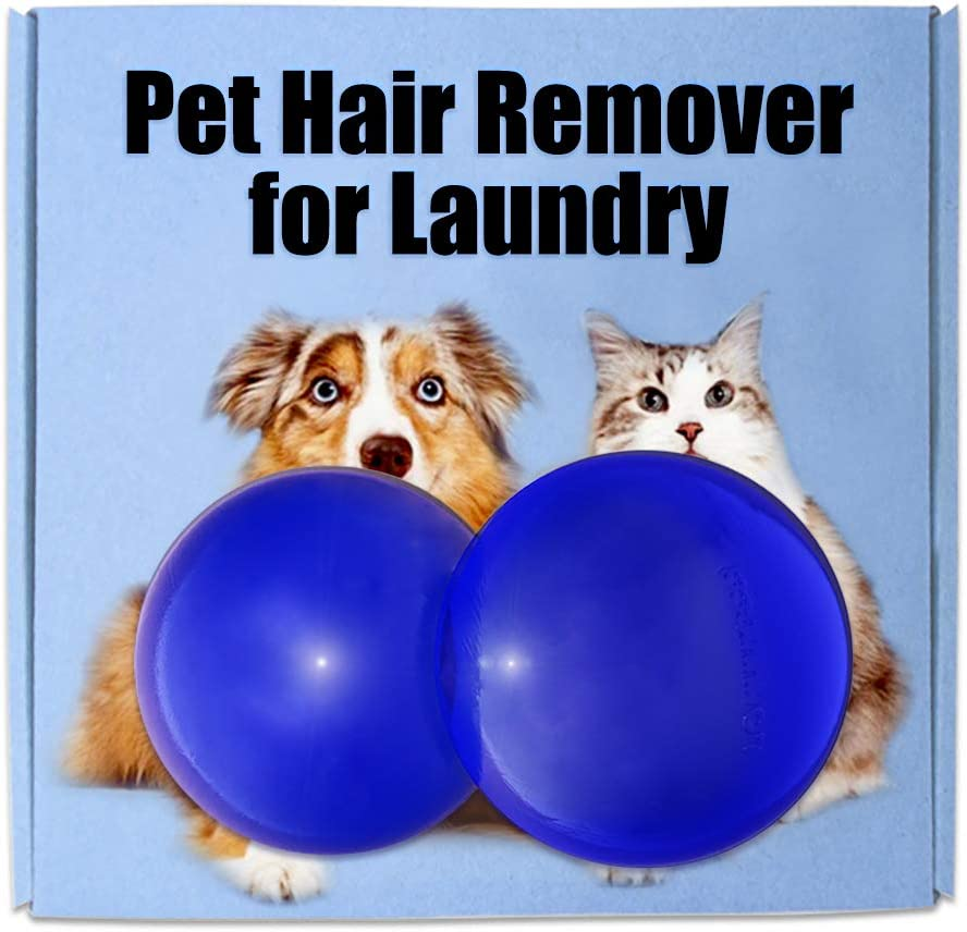 Pet Hair Remover for Laundry, Lint Remover Reusable Dogs Cats Hair Remover Clothes Hair Catcher for Furniture, Carpet, Bedding, Dryer