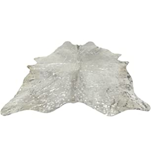 silver and white cowhide rug cowhide devour silver metallic on beige