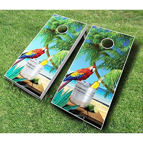 Parrot Cornhole Set with Bags