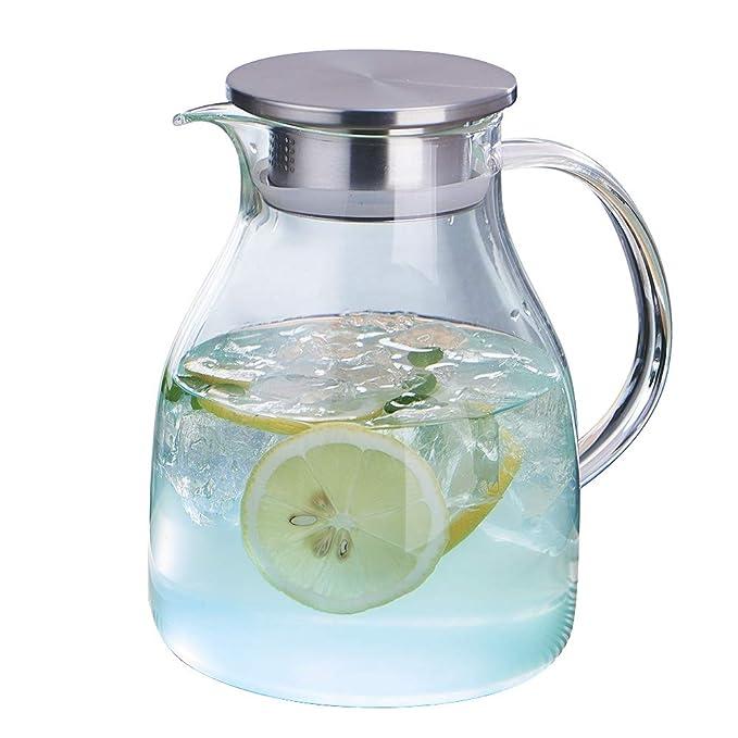 Amazon.com: WarmCrystal, vaso grande de té frío o tetera ...