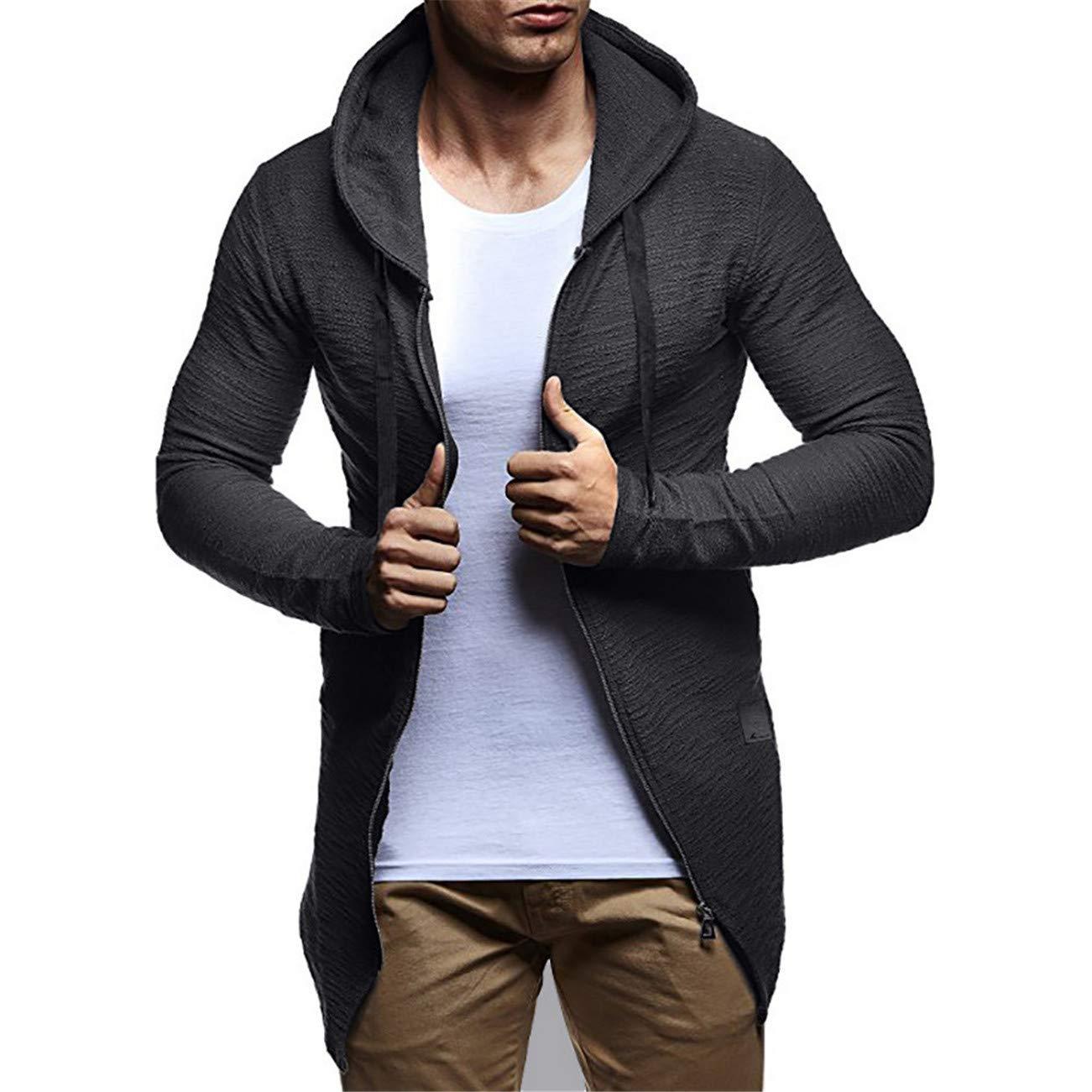 Manteau Homme Men's Autumn Winter Casual Camouflage Cardigan Fit Long Sleeve Hoodie Top Coats HCFKJ-Js