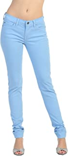 product image for Angry Rabbit Women's Color Skinny Premium Denim Jeans