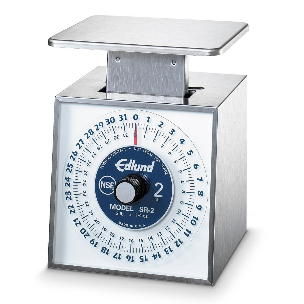 Edlund Company SR-2 Mechanical Portion Scale - Premier Series, Silver