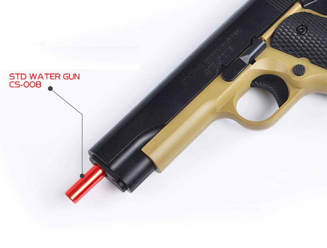 SHUNDATONG Toy Gun New STD 1911 Manual Toy Gun Outdoor