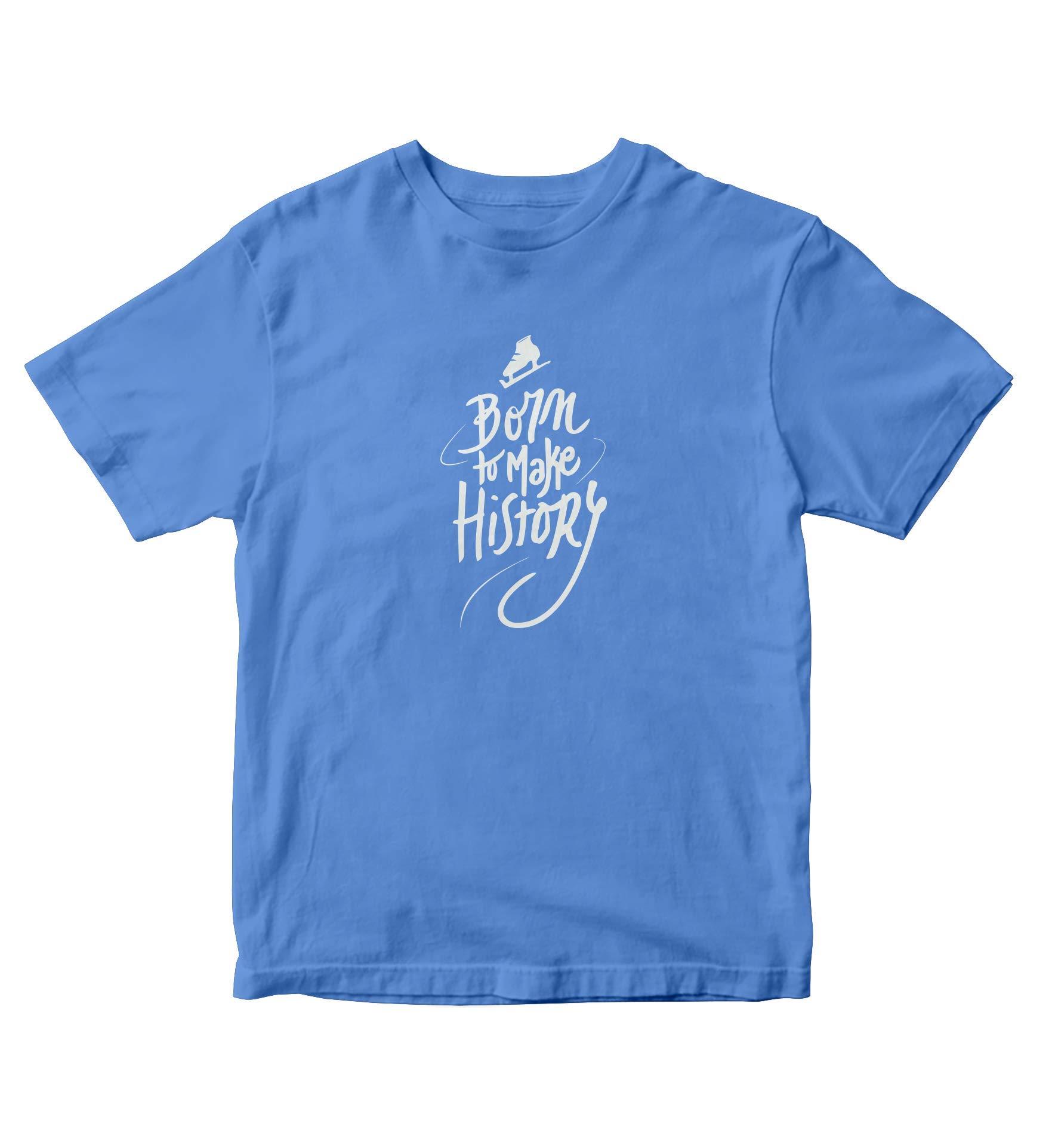 Yuri On Ice Shirt Born To Make History Anime Manga S Light Blue Shirt A787