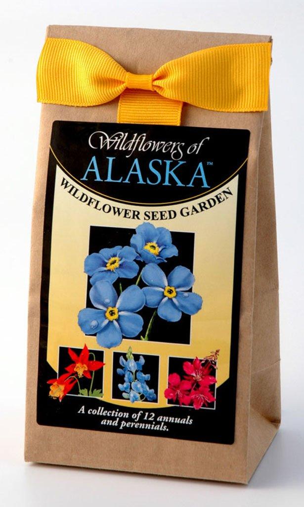 Alaska Wildflower Seed Garden Bulk Mix 3.5 oz Covers 350 Square Feet by Wildflower Company