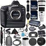 6Ave Canon EOS-1D X DSLR Camera International version (No Warranty) + Canon EF 500mm f/4L IS II USM Lens + Battery Grip + LP-E6N Replacement Lithium Ion Battery Bundle