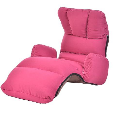 L-R-S-F Lazy Linen Sofa Chair Respaldo del Dormitorio Sofá Silla Flotador Ventana Silla Single Sofa Sillón