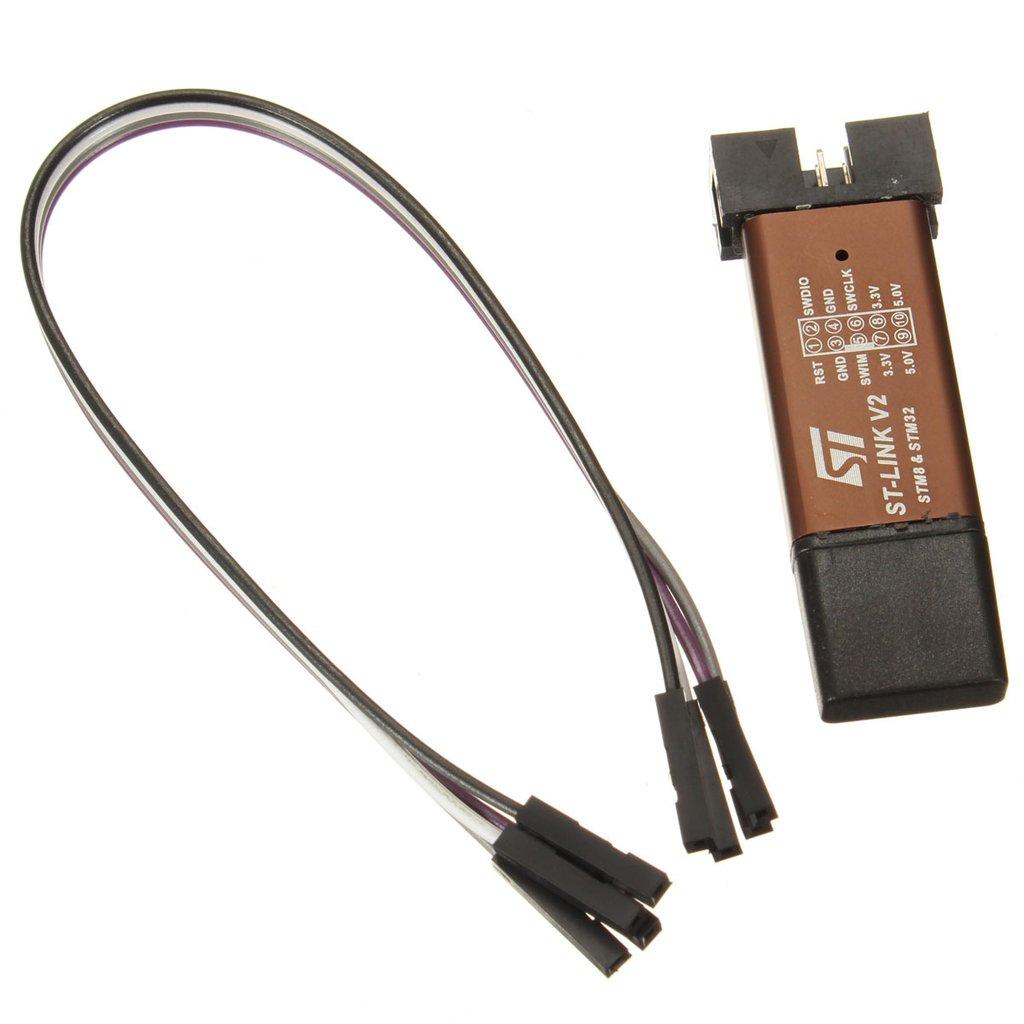 C.J. SHOP ST-Link V2 Shell Programming Unit mini STM8 STM32 Emulator Downloader M89 New BG-US-973898