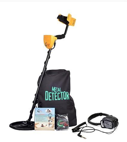 SHUOGOU MD-6350 Detector de Metales Profesional de Alta Sensibilidad-Treasure Hunter Resistente al agua Bobina de Pantalla LCD-Detecta todos los Metales- ...