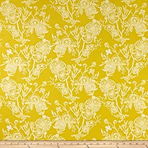 Amazon.com: Art Gallery Fabrics - Tela de lona con dibujos ...
