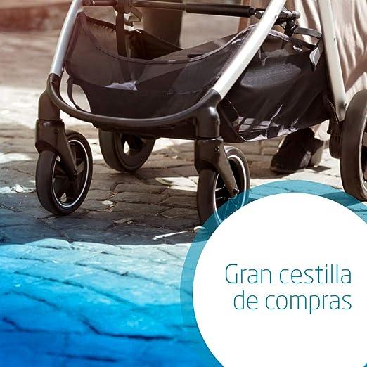Bébé Confort ZELIA Nomad Black - Cochecito urbano 2 en 1, diseño ...