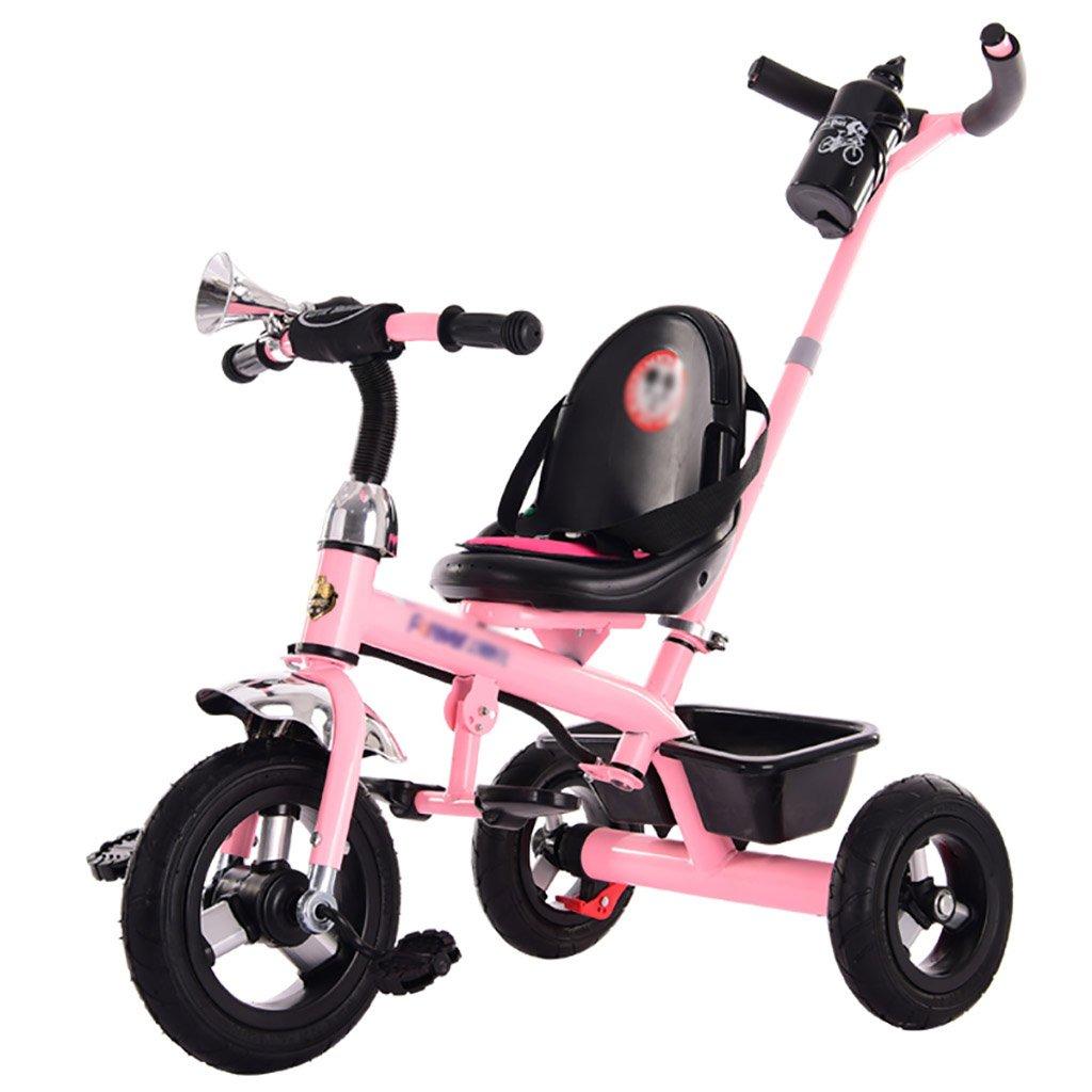子供用トライク、三輪車の乗り物バイク、赤ちゃんの滑り自転車、おもちゃの自転車、自転車の子供、フットペダルの3つの車輪 (色 : D) B07CZFM11GD