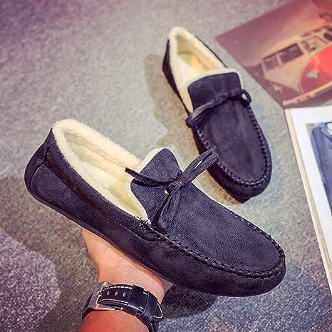 Shoes Zapatos de Invierno para Jóvenes, Zapatos de Algodón para Estudiantes, Zapatos Casuales para Hombres, Más ...
