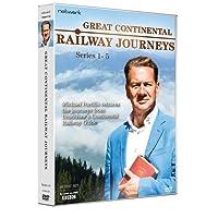 Great Continental Railways Journeys: Series 1 - 5 [DVD]