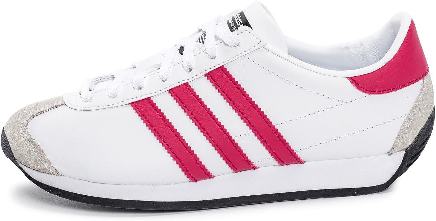 Adidas Country OG J Jungen Sneaker Ftwbla Rosfue Ftwbla