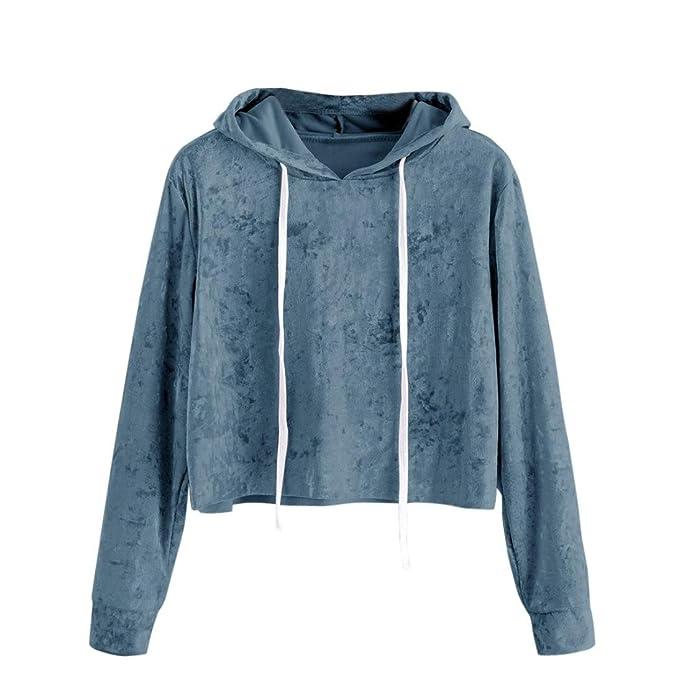 Hoodies Damen Velvet Mumuj New Fashion Frauen Blue Wine Long Sleeve Kapuzenpullover  Mädchen Sport Slim Trainingsanzug 04fdb15a88