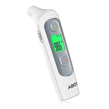 Amazon.com: Termómetro, ABOX 2018 actualizado digital médico ...