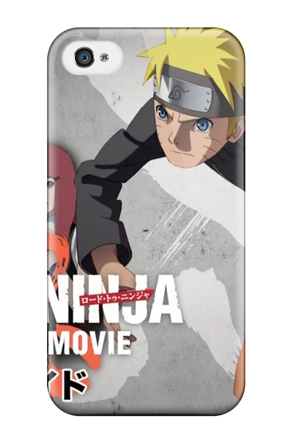 Tpu Case Cover Compatible For Iphone 4/4s/ Hot Case/ Naruto ...