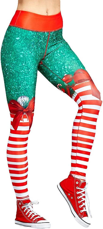 Amazon.com: ChoppyWave - Leggings de Navidad para deporte ...