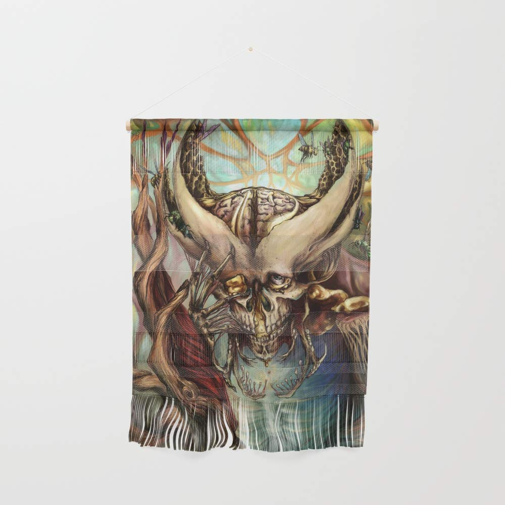 Society6 Wall Hanging, Size Small 11 1/4'' x 15 1/2'', Even Bees Dance by katpowell
