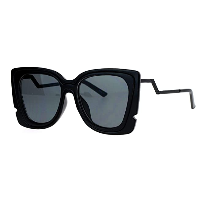 Amazon.com: Cuadrado Mariposa anteojos de sol Womens Marco ...
