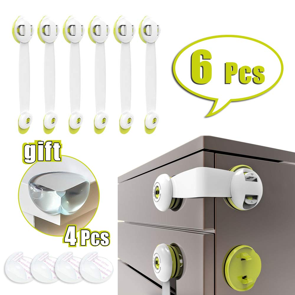 Strong Adhesive for Kitchen... Trongle Child Safety Cupboard Locks