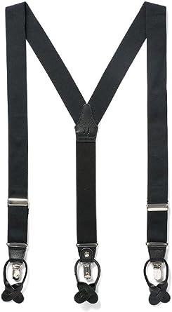 Suspender button straps