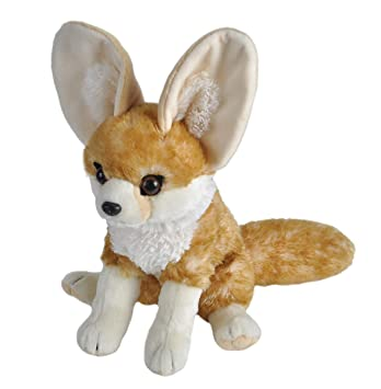 Amazon Com Wild Republic Cuddlekin Fennic Fox 12 Plush Toys Games